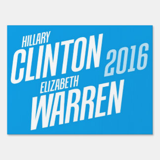 Hillary Clinton/Elizabeth Warren muestra de 2016 y