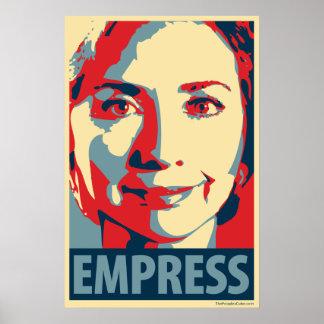 Hillary Clinton - emperatriz: Poster de OHP