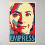 Hillary Clinton - Empress: OHP Poster