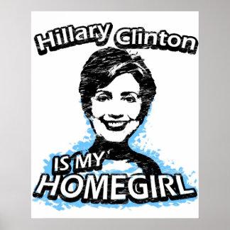 Hillary Clinton es mi homegirl Póster