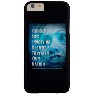 Hillary Clinton es un fraude Funda Barely There iPhone 6 Plus