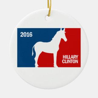 HILLARY CLINTON FAVORABLE DNC 2016 png Ornamentos Para Reyes Magos