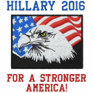 Hillary Clinton for a Stronger America Hoodie