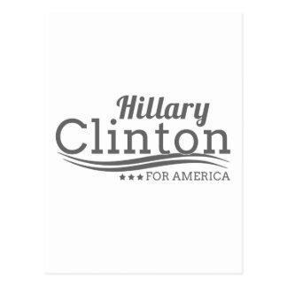 Hillary Clinton for America Postcard