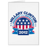 Hillary Clinton for President 2012 Cards
