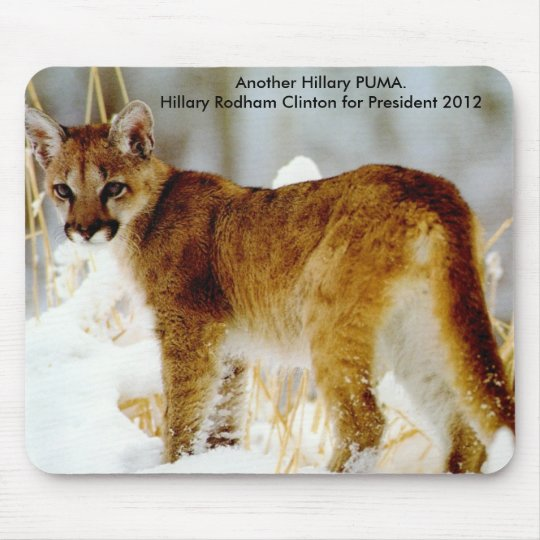 Hillary Clinton for President 2012 Mouse Pad