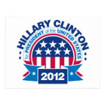 Hillary Clinton for President 2012 Post Cards
