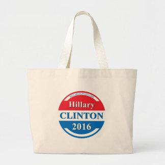 Hillary Clinton for President 2016 Canvas Bag