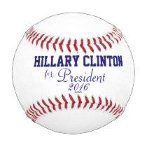Hillary Clinton for President 2016 Baseballs