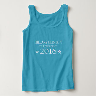 Hillary Clinton for President 2016 Basic Tank Top