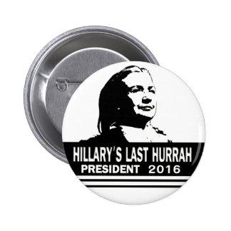 Hillary Clinton for President 2016 Button