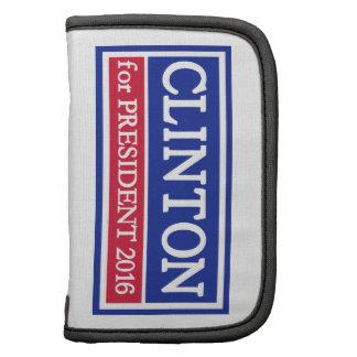 Hillary Clinton for president 2016 Folio Planner