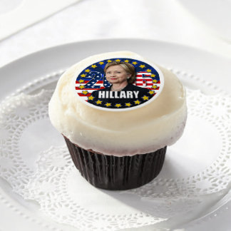 Hillary Clinton for president 2016 Frosting Sheets