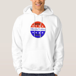 HILLARY CLINTON FOR PRESIDENT 2016 HOODIE