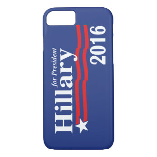 Hillary Clinton For President 2016 iPhone 7 Case