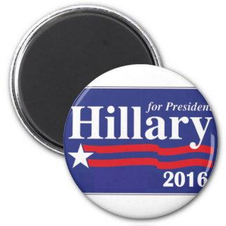 Hillary Clinton for President 2016 Fridge Magnets
