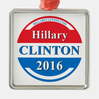 Hillary Clinton for President 2016 Metal Ornament
