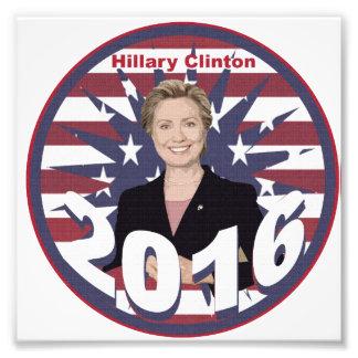 Hillary Clinton for President 2016 Photo Print