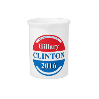 Hillary Clinton for President 2016 Beverage Pitcher
