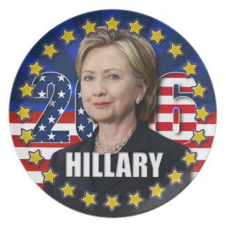 Hillary Clinton for president 2016 Plate
