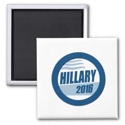 HILLARY CLINTON FOR PRESIDENT 2016.png Refrigerator Magnet
