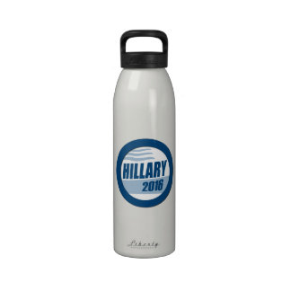 HILLARY CLINTON FOR PRESIDENT 2016.png Reusable Water Bottle