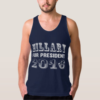 Hillary Clinton for President 2016 Tank Top