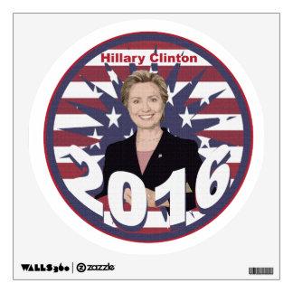 Hillary Clinton for President 2016 Wall Sticker