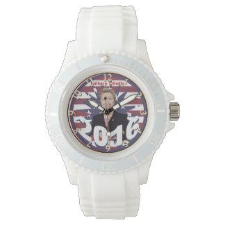 Hillary Clinton for President 2016 Wrist Watch