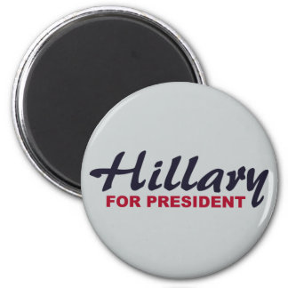 Hillary Clinton For President 2 Inch Round Magnet