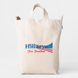 Hillary Clinton For President Duck Bag