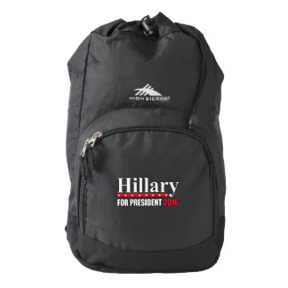 Hillary Clinton For President High Sierra Backpack
