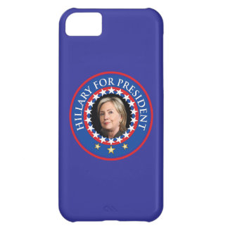 Hillary Clinton for President in 2016 iPhone 5C Case