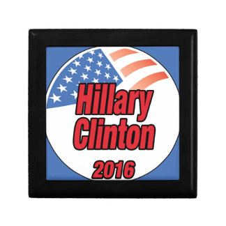 Hillary Clinton for president in 2016 Jewelry Box