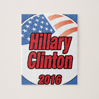 Hillary Clinton for president in 2016 Jigsaw Puzzle