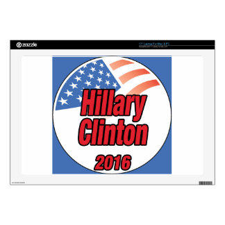 Hillary Clinton for President in 2016 Laptop Skins