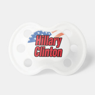 Hillary Clinton for President in 2016 Pacifier