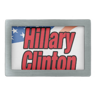 Hillary Clinton for president in 2016 Rectangular Belt Buckle