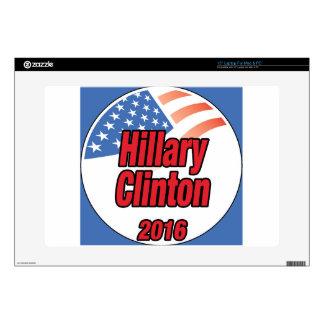 Hillary Clinton for president in 2016 Skins For Laptops