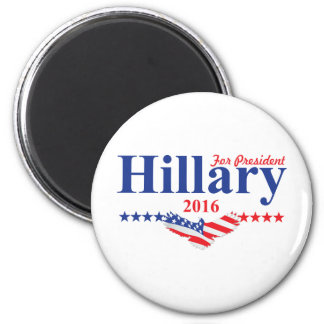 Hillary Clinton For President Magnet