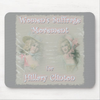 Hillary Clinton for President Mouse Pad