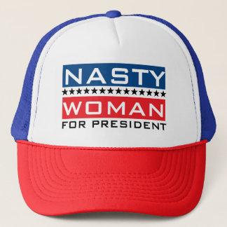 Hillary Clinton For President | Nasty Woman Trucker Hat