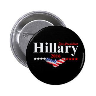Hillary Clinton For President Pinback Button