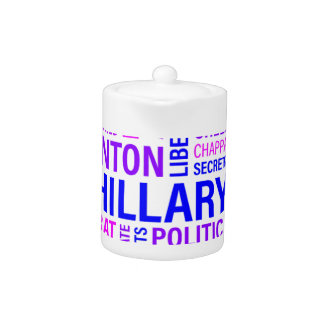 Hillary Clinton for President Teapot