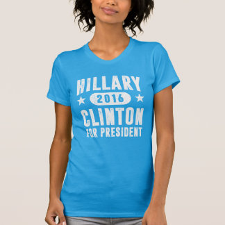 Hillary Clinton For President Vintage T-Shirt