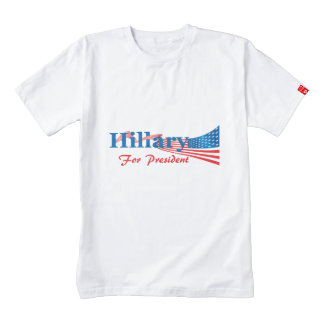 Hillary Clinton For President Zazzle HEART T-Shirt