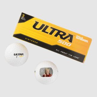 Hillary Clinton Golf Balls