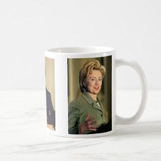Hillary Clinton, Hillary Clinton, Hillary Clinton Classic White Coffee Mug
