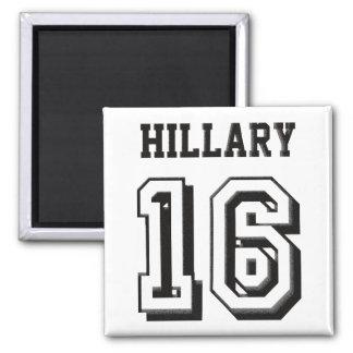 Hillary Clinton Imán Cuadrado