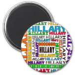Hillary Clinton Imán Redondo 5 Cm